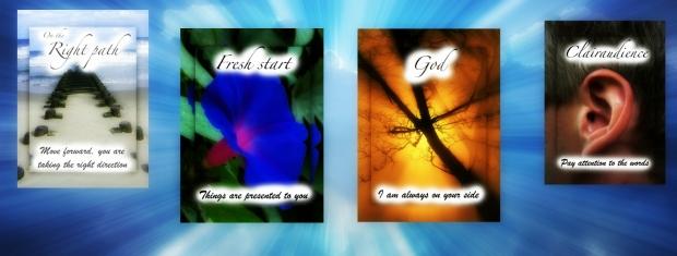 spiritual cards banner