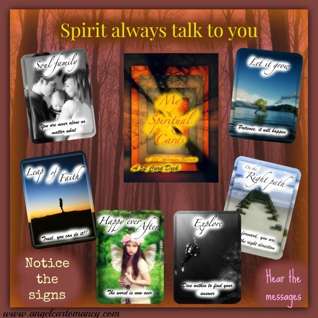 spiritual cards