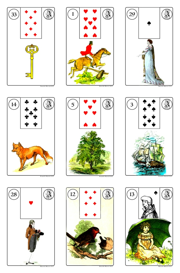Melle Lenormand Collage